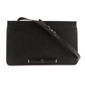 Gucci Lady Bamboo Black Leather Shoulder Bag
